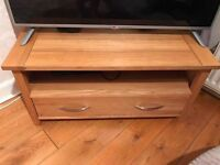 Solid Oak Tv Stand/Unit