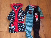 In The Night Garden Dressing Gown and Onesie 9-12 Months