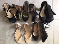 Size 5 shoes and sandals