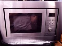 Candy built-in microwave oven and grill