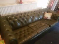 Two Chesterfield Sofas