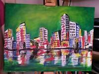 City Zone painting