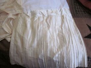 Twin and King Size Bedskirts