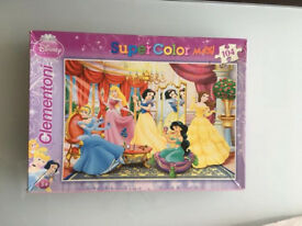 Disney Princesses puzzle 104 pieces Age 3+