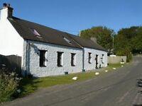 4 bedroom detached cottage for sale, Tayinloan, Tarbert. Offers over £170,000