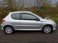 **32000 MILES**Peugeot 206 GTi **LOOK AT THIS**MOT MAY 2018**F.S.H**New discs & pads**Spotless!!