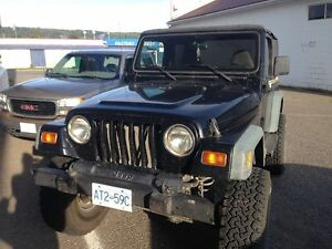 1999 Jeep TJ Coupe (2 door)