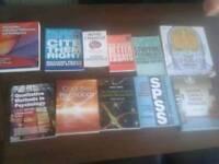 Psychology text books.