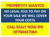 PROPERTIES WANTED ANY CONDITION Stoke-on-Trent