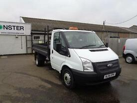 Ford Transit T350 MWB S/C TIPPER TDCI 125PS DIESEL MANUAL WHITE (2014)