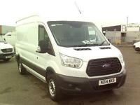 Ford Transit T350 L3 H3 125PS VAN DIESEL MANUAL WHITE (2014)