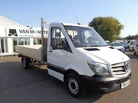 Mercedes-Benz Sprinter 313 CDI 3.5T Dropside Van DIESEL MANUAL WHITE (2014)