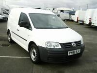 Volkswagen Caddy 1.6TDI 69PS VAN DIESEL MANUAL WHITE (2010)
