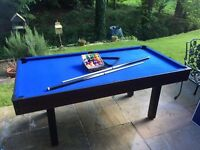 Pool table - 6ft BCE