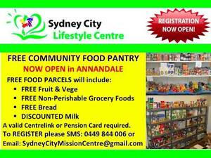 * FREE FOOD PANTRY * Open Wednesday and Friday 11.00am to 2.00pm Fairfield Area Preview