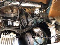 Pond pumps, uv filter and air pump