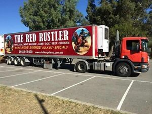The Red Rustler truck mobile butcher  for sale! Willetton Canning Area Preview