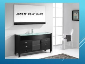 SOLID OAK VANITIES-MANY MODELS AND SIZES TO CHOOSE FROM!!