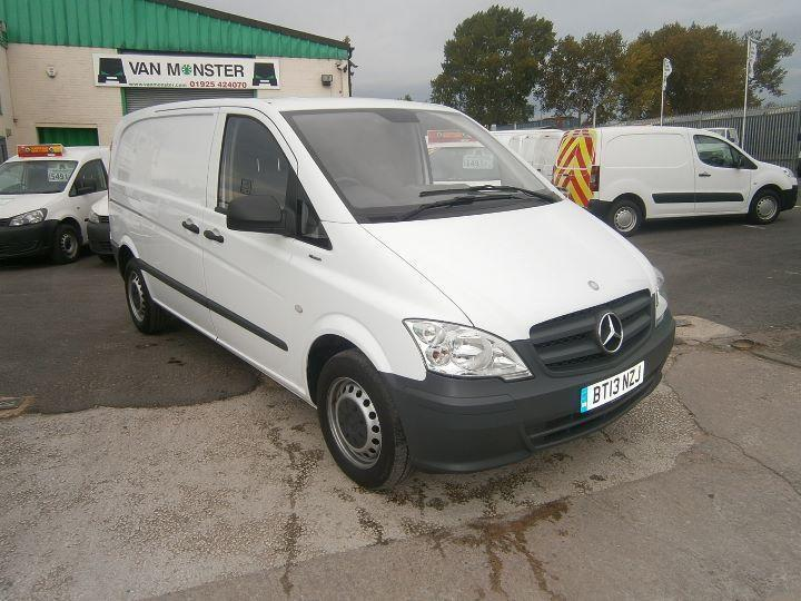 Mercedes-Benz Vito 113cdi Compact 136ps Air Con DIESEL MANUAL WHITE (2013)