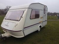 Elddis Force 2 Berth Caravan with Full Awning & More