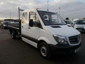Mercedes-Benz Sprinter 3.5T Chassis Cab Tipper DIESEL MANUAL WHITE (2015)