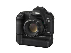 Canon EOS 5D Mark II Full Frame DSLR  (Body Only) plus Grip.