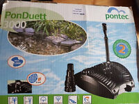 pond pump pontec3000