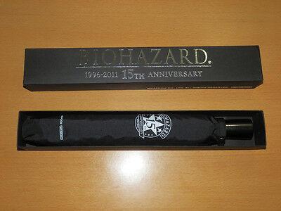 BIOHAZARD 15th Anniversary CAPCOM Promo Limited Umbrella Box Set Resident Evil