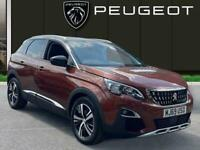 2019 Peugeot 3008 1.2 Puretech Allure Suv 5dr Petrol s/s 130 Ps Estate PETROL Ma