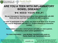 DO YOU OR SOMEONE YOU KNOW HAVE INFLAMMATORY BOWEL DISEASE?