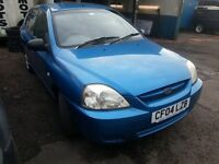 kia rio 2004 . 1.3 petrol . 12 months m.o.t run and drive mint onlly £250 no oferts.