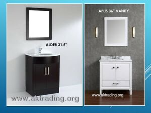 VANITIES AND SHOWER STALLS W/BASES-LARGE, MEDIUM, SMALL SIZES!
