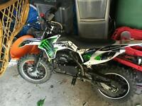MXR 50cc mini dirt bike