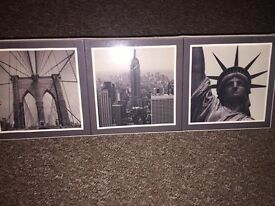 New York Floating canvas photo