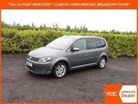 2011 Volkswagen Touran 1.6TDI DIESEL 7 SEATER ESTATE SE ONLY 44,000 MILES