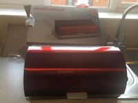 Russell Hobbs Breadbin Metallic Red Used _ Have Original Box Also