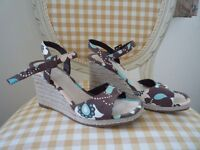 M & S Limited Collection funky wedge shoes
