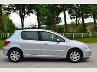 2005 Peugeot 307 1.6 Manual 5Doors With 12 Month MOT PX Welcome
