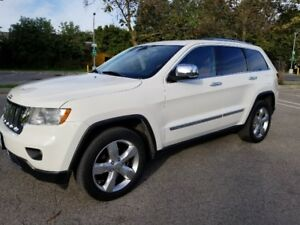 2012 Jeep Grand Cherokee Overland SUV, 4X4, Loaded