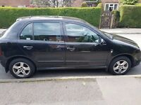 Black Skoda Fabia 1.9 Diesel with 12 months MOT