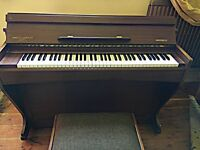 Barratt and Robinson Minstrelle mini piano.