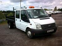 Ford Transit D/Cab Chassis Tdci 100Ps [Drw] Euro 5 DIESEL MANUAL WHITE (2012)