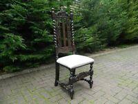Antique Rope-Twist Chair