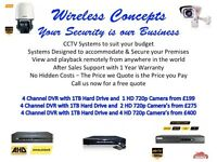 GREAT DEALS ON CCTV CAMERA'S SUPPLIED AND FITTED