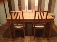 IKEA Bjursta extendable dining table £75