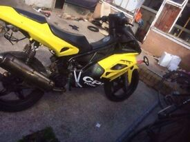 This bike needs work so selling it as a project
