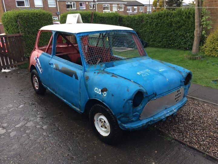 MINI 1275 SHORT TRACK STOCK CAR BARN FIND GBP400
