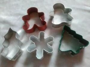 New- Wilton Steel Christmas Cookie Cutter sets