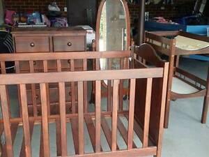 Nursery / baby furniture plus mattress, protectors, sheets etc Weston Weston Creek Preview