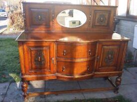 Victorian antique sideboard